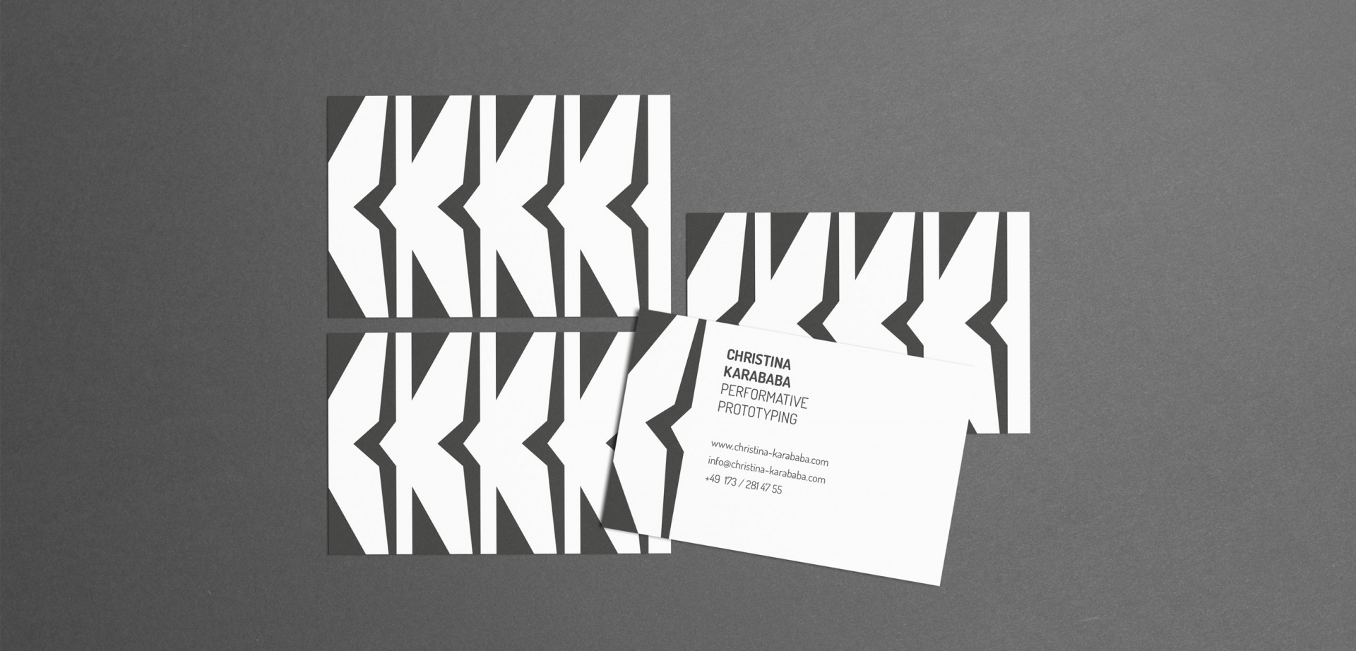 Christina Karababa, Business Cards